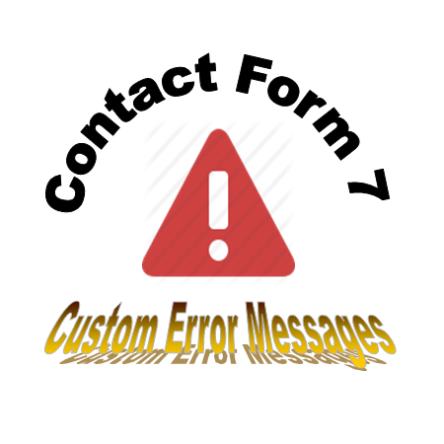 CF7 – Custom Error Messages